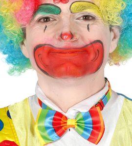 gestreifte bunte Clown Fliege für Erwachsene