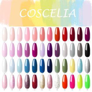 Coscelia 10ml UV Nagellack Farbgel Starter Set -Wähle Sie 6 Farben- Gel Nägel Maniküre Set UV Gel Lacken Set für Nageldesign Nail Gel Polish Kit