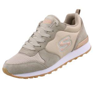 Skechers Free Running 111 Damen Sneaker Beige Schuhe, Größe:39