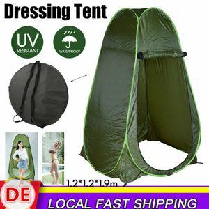 Duschzelt Toilettenzelt Umkleidezelt Lagerzelt Angelzelt Wasserdicht Pop up Zelt Tent Camping Outdoor Zelt 1.2*1.2*1.9m