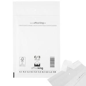 100 x Luftpolstertaschen / Versandtaschen / Luftpolsterumschläge weiss C3 (170 x 225 mm DIN A5 / B6+)