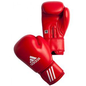 Adidas Boxhandschuhe AIBA rot - 12oz