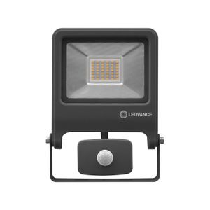 LEDVANCE ENDURA FLOOD SENSOR 30 W LED Wandstrahler Warmweiß 22,3 cm Aluminium Dunkelgrau