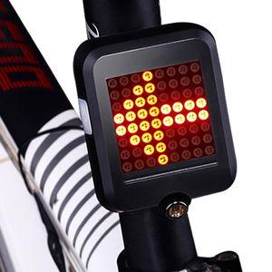 Fahrradrücklicht mit Blinker Drahtlose Fernbedienung Wasserdichtes Fahrrad Rücklicht USB Wiederaufladbare Sicherh