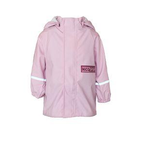 Kinder Mädchen Matsch und Buddeljacke Regenjacke Outdoor Jacke Rosa 98