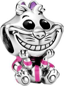 Pandora Disney Charm 798850C01 Disney Alice in Wonderland Cheshire Cat Silber 925 Schwarz Lila Emai