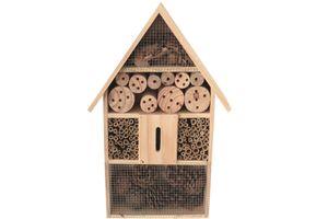 XXL Insektenhotel Holz ca 50 cm / Nistkasten Natur Insekten Brutkasten Hotel