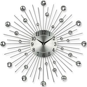 Designer Wanduhr - Uhr - Gerade weiß