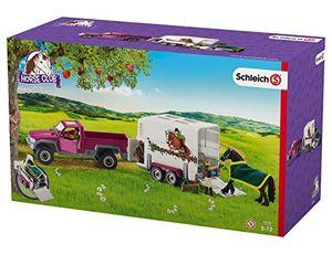 Schleich Pick-up mit Pferdeanhänger, 42346