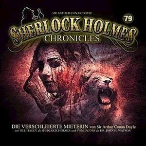 Sherlock Holmes Chronicles - Die verschleierte Mieterin  ., 1 CD