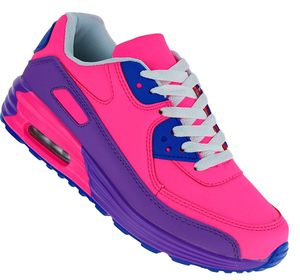 Art 533 Neon Luftpolster Turnschuhe Schuhe Sneaker Sportschuhe Neu Damen, Schuhgröße:40