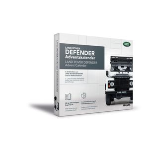 Franzis adventskalender Land Rover Defendergrau 24-teilig