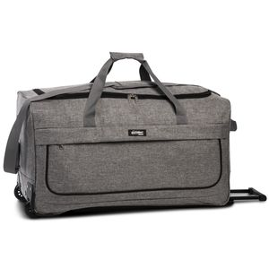 Southwest Bound Budget Rollenreistasche Reisetasche mit Rollen 30332, Farbe:Dunkelgrau