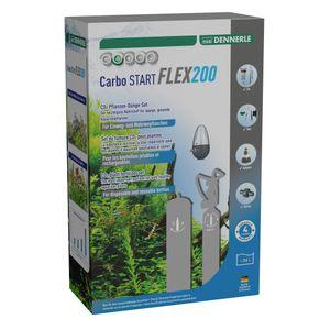 Dennerle Carbo START Flex200 - CO2-Düngeset für Aquarien bis 200 Liter