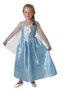 Rubie's - Disney Mädchen Kostüm Die Eiskönigin - offiziell lizenziert - Größe L