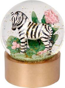 """Spiegelburg Glas-Glitzerkugel Zebra """"I love my Jungle"""" Garden"""