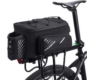 ROCKBROS Fahrrad Gepäckträgertasche Fahrradtasche Hinter Transporttasche Wasserdicht 9-12L