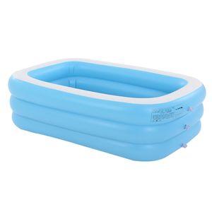 Familienpool 210 x 150 x 60cm Pool Kinderpool Kinder Planschbecke Schwimmbecken 210 x 150 x 60 cm