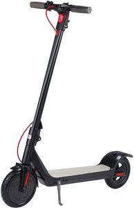 HOBFU 8,5 Zoll Klappbar Elektroscooter , Anti-Rutsch-Reifen und LCD-Bildschirm 10Ah Akku Ausdauer bis zu 35km und 350 Watt Motor schwarz