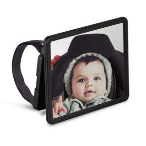 Wicked Chili schwenkbarer Babyspiegel für Auto Kopfstützen, KFZ Baby Rücksitzspiegel, bruchsicherer Baby Autospiegel für den Rücksitz, Rückspiegel, Kindersitzspiegel, Spiegel Auto Baby (extra gross)