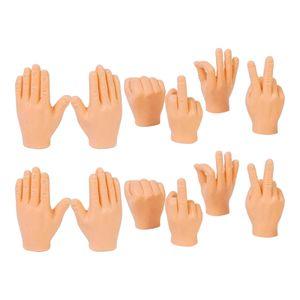 12 Stück Fingerpuppe Mini Finger Hände