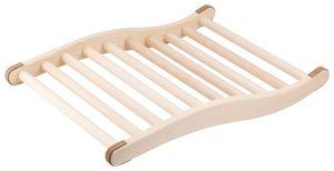 Rückenlehne ergonomische S-Form Sauna & Infrarotkabine Saunazubehör Holz