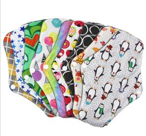 10 Stücke Waschbare Stoffbinden Slipeinlage Damenbinden