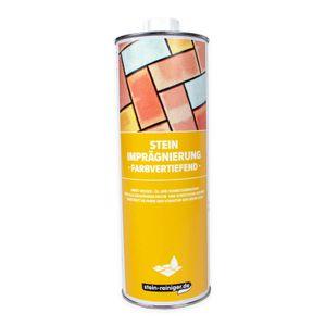 Stein Imprägnierung farbvertiefend 1 L - Für alle saugfähigen Natur- und Kunststeine geeignet