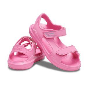 crocs Swiftwater River Sandal Kids Pink Lemonade / Pink Lemonade Croslite Größe: 30/31 Normal