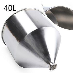 Trichter Edelstahl Edelstahlbehälter Edelstahl Trichter 40L Industrie Edelstahltrichter für die Küche Flüssigpaste Füllmaschine