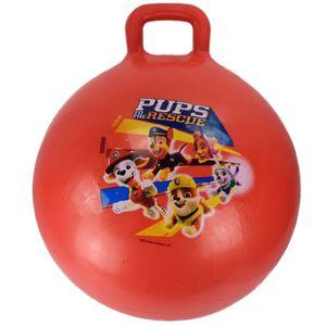 Hüpfball 45cm mit Griff Sprungball Paw Patrol Springball Hopser Ball Kinder