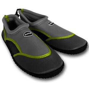 Herren Badeschuh Gr.42 grau – Schuhe – Wasserschuhe – Badeschuhe - Wasserschuh