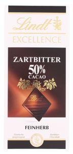 Lindt Excellence Zartbitter feinherb 50% (100 g)