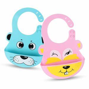 Silikon-Baby-Lätzchen - Wasserdichtes, leicht abwischbares Silikon-Lätzchen für Babys, Kleinkinder - Baby-Fütterungs-Lätzchen