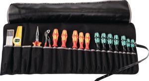 Werkzeugrolltasche 15 Fächer B670xH330mm Nylon schwarz/rot PARAT