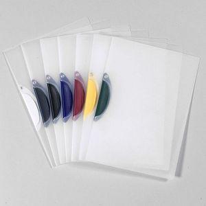 12 Swinghefter DIN A4 / Bewerbungsmappe / Cliphefter / 6 verschiedene Clipfarben