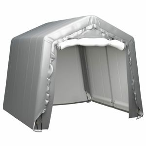 dereoir Lagerzelt 240x240 cm Stahl Grau