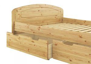 Funktionsbett 160x200 Doppelbett Bettkasten Federholzrahmen Seniorenbett Kiefer 60.50-16 FV