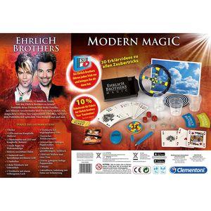 Clementoni Ehrlich Brothers Modern Magic - 35 moderne Zaubertricks
