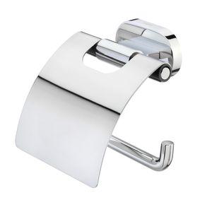 Tiger Lucca Toilettenpapierhalter mit Deckel Chrom, 1304130346