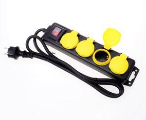 Filmer 20843 4er-Steckerleiste outdoor  mit Schalter
