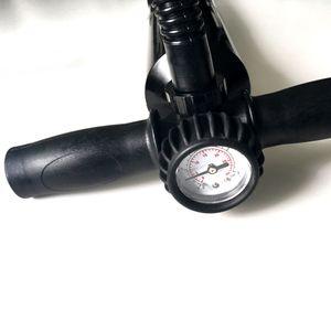 NEMAXX Premium Handpumpe für Stand Up Paddle Board mit Manometer bis 25 psi, Hand Pumpe & Luftpumpe - SUP Boards, Kit, Schlauchboote für alle Hochdruckventile, schwarz