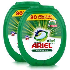 Ariel Allin1 Pods Universal Waschmittel für 90 Waschladungen (2er Pack)