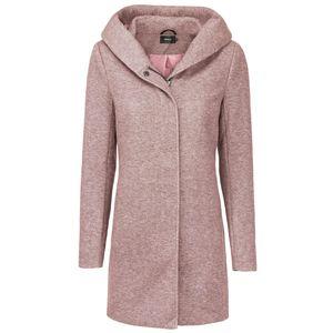 Only Damen-Woll-Mantel onlSedona Light Coat Otw 15142911, Größe:S, Farbe:Rosa