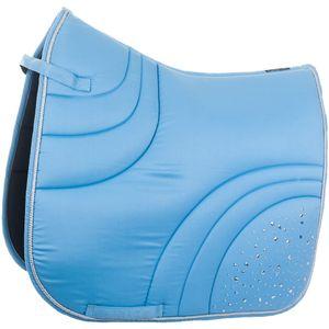 HKM Schabracke -Sparkle-, Farbe:6301 hellblau, Größe:Dressur