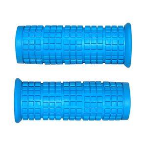 lenkergriffe fahrrad blau grip shift 22 mm 85 mm griffe gummi grip griffgummis paar