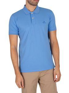 Gant men Polo-Shirt, Farbe:445 PACIFIC BLU, Größe:L