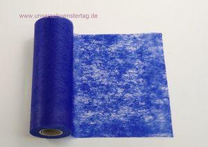 20m Tischband Vlies blau TB0006