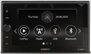 XZENT X-227 2-DIN Moniceiver Carplay Bluetooth DAB+ Digitalradio