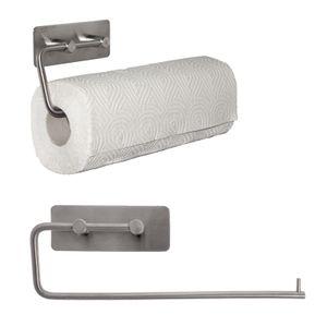 Küchenrollenhalter aus Edelstahl Küchenrollen Rollenhalter Papierrollenhalter Wandrollenhalter - selbstklebend